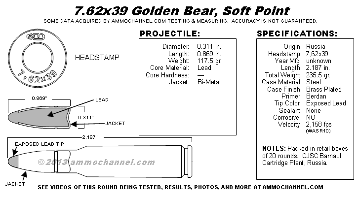 762x39-Golden-Bear-Soft-Point-SpecSheet