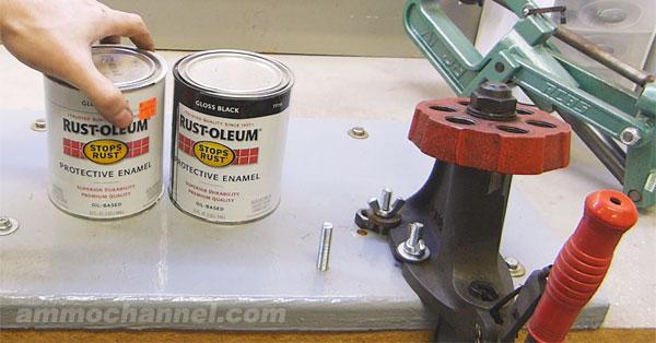 diy-modular-reloading-press-mount-surface-paint