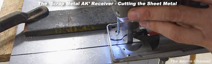 Scrap Metal 'AK-47′ Build ~ 02 Receiver from Scratch | The